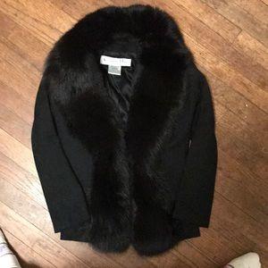 Christian Dior mink blazer jacket